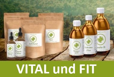 VITAL und FIT - Naturprodukte von A-Z